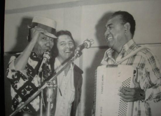 Jackson do Pandeiro, Adelzon Alves e Luiz Gonzaga